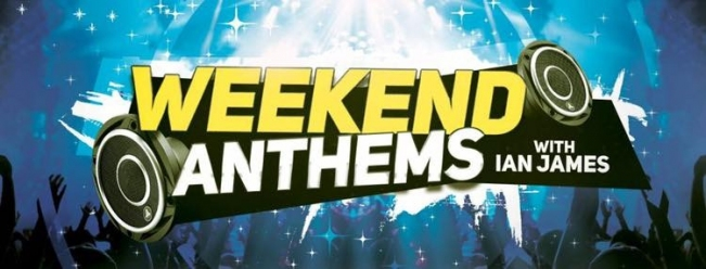Weekend anthems logo