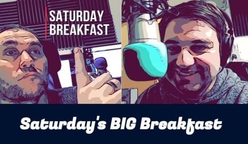 Saturdays big breakfast graphic